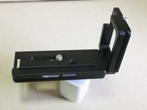 α6000 に使ったアルカスイス互換L型プレート