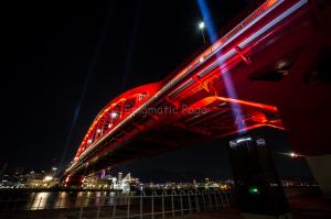 神戸大橋特別演出照明
