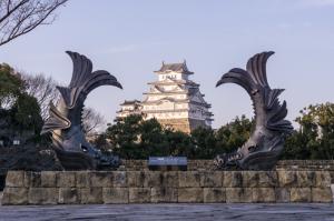 姫路城 on the 鯱