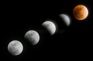 400mm で撮る皆既月食♪